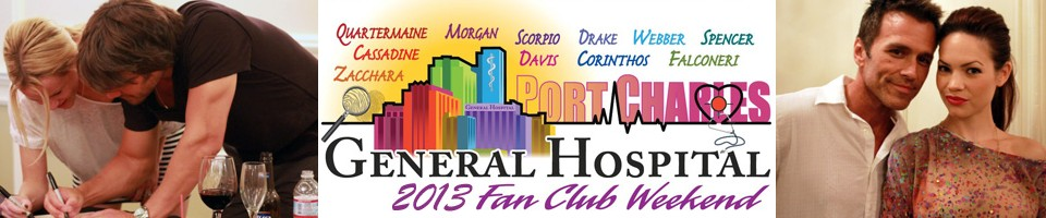 General Hospital Fan Club Weekend 2013 - July 25th – 29th, Sportsmen's Lodge Hotel & Event Center, Studio City, California