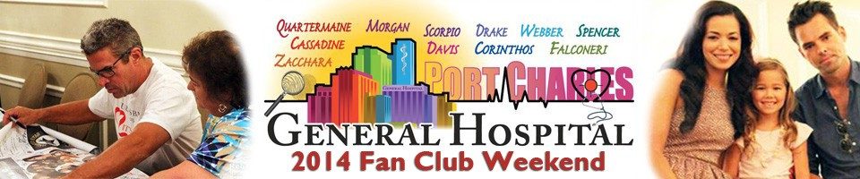 General Hospital Fan Club Weekend 2014 - July 31 – August 4, Sportsmen's Lodge Hotel & Event Center, Studio City, California