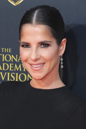 Kelly Monaco arrives at 42nd Annual Daytime Emmy Awards